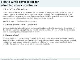 Sample Cover Letters For Administrative Positions Administrative ...