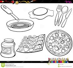Small Picture Free Coloring Pages Kitchen Utensils