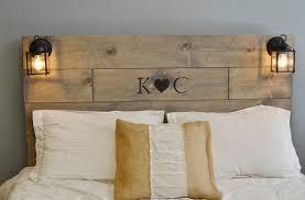 romantic wooden headboard wooden diy headboard ideas bright