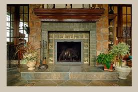 Decorative Hearth Tiles