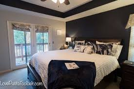 Master Bedroom Gray Navy And Gray Master Bedroom Design Love Pasta And A Tool Belt