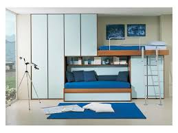 bed with wardrobe. Wonderful With Kids Bedroom 4 With Extractable Second Bed Bridge Wardrobe Light  Blue Color On Bed With Wardrobe