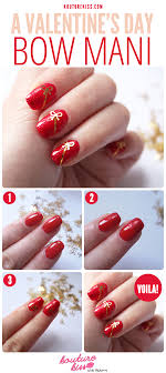 A Valentine's Day Bow Mani - Kouturekiss - Your One Stop ...