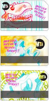 Mta Metrocard Design Metrocard Designs For Kids Promoting The Museum Of Natural