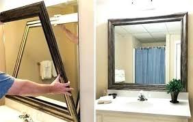 bathroom mirror frame tile. Fine Tile Frame For Bathroom Mirror Frames Stick On  Ideas   For Bathroom Mirror Frame Tile