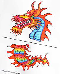 Chinese dragons are wonderful both in their might and in their colors, certainly one of the most colorful legendary beasts that ever existed. Chinese Dragon Puppet Kids Craft With Printable Dragon Template