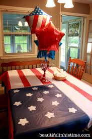 Patriotic Bedroom An Independence Day Birthday Party For America