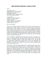 Proposal Cover Letter Business Plan Cover Letter Business Proposal ...