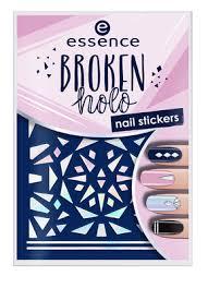 essence <b>Наклейки для ногтей Broken</b> Holo   Купить в BeautyHome