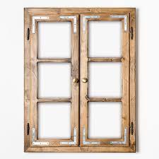 Gipfel Design Dekofenster 60x80 Cm Mit Led Beleuchtung Patiniert