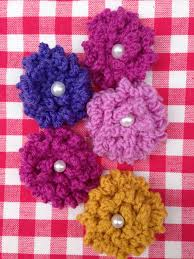 Knitted Flower Pattern Fascinating Hand Knitted Flowers Free Pattern Welcome To Butterfly Bright