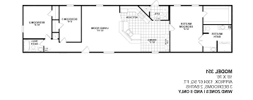 2 bedroom manufactured home plans new 3 bedroom single wide mobile home floor plans best 1