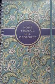 Home Finance Bill Organizer 2015 Home Finance Bill Organizer Book With Pockets 2014 2015