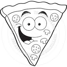 pizza clipart black and white. In Pizza Clipart Black And White