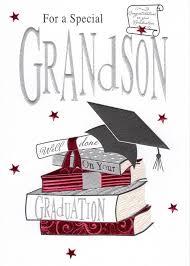 Grandson Graduation Greeting Card Second Nature Congratulations