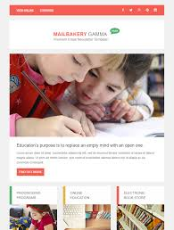 Education Newsletter Templates 80 Free Mailchimp Templates To Kick Start Your Email