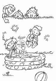 Coloring Pages Coloring Pages Simple Water Cycle Page Free
