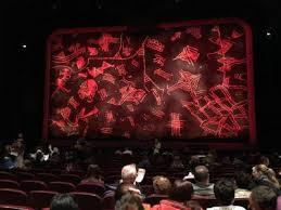 minskoff theatre sección orchestra fila p asiento 121