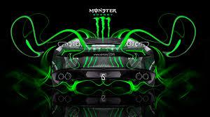 monster energy lamborghini huracan back plastic car