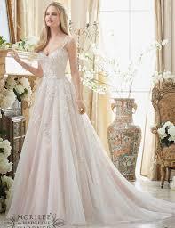 designer wedding dresses 2017 trends deep v neck lace long sleeve