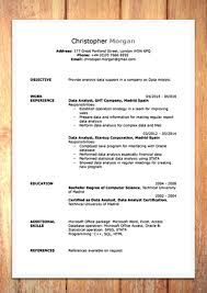 Template Cv Template Word Doc Resume Template Word Doc