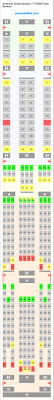 american airlines boeing 777 300er 77w seat map