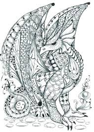 Cool Dragon Coloring Pictures Realistic Dragon Coloring Pages Free