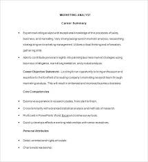 Research Analyst Resume Sample Market Research Resume Sample 4