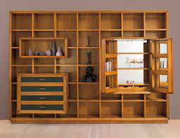 charming bookshelf wall unit cube wall shelves wooden