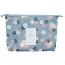 new women s cosmetic bag flower pattern makeup bag cal make up bag organizer multifunctional travel pockets handbag hqb1504 high quality bag kid china