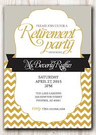 Invitation Template. Free Printable Retirement Party Invitations ...