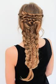 Layered Braids Hairstyles Layered Braid Hairstyle Tutorial Luxy Hair