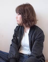 ジェンダーレスなミディアムボブyu 172 ヘアカタログ髪型ヘア