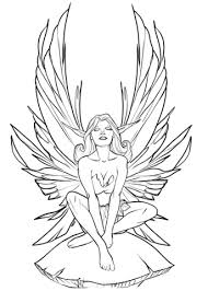 Small Picture Fairy coloring page Free Printable Coloring Pages