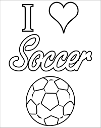 soccer coloring pages to print