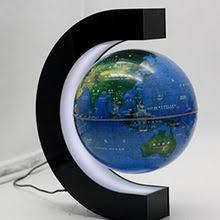 led light magnetic levitation floating globe english world map ornaments