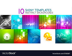 Collection Of Shiny Light Templates