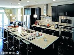 One Wall Kitchen Designs With An Island Plans Cool Design Ideas