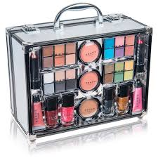 all in one makeup kit eye shadow palette blushes powder and more holiday exclusive