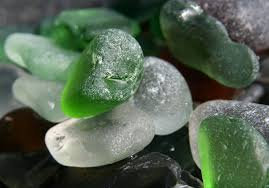 sea glass greens