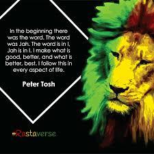 Peter Tosh Rasta Quote Rastaverse Amazing Jah Rastafari Quotes
