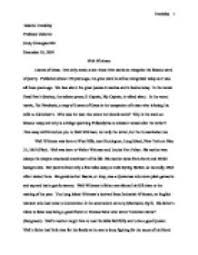 biographical essay example co biographical essay example
