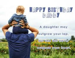 Birthday Quotes For Daddy From Daughter