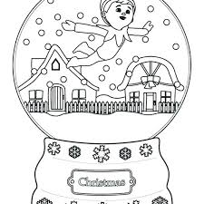 Elf On The Shelf Coloring Pages Free Printable Free Elf Coloring