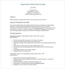 Resume Examples For Cashier Resume Sample For Cashier At A