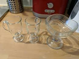 glass dessert cups