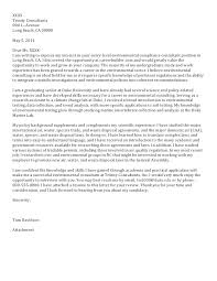 Sample Cover Letter Management Consulting Management Consulting