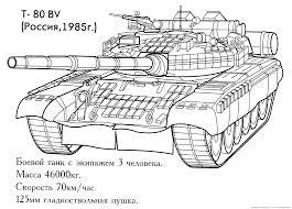 Tank 8 Transport Coloriages Imprimer