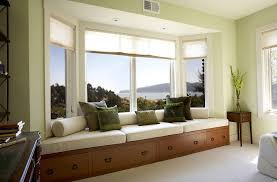 incredible bow window decorating idea contemporary bay freshome christma a sill