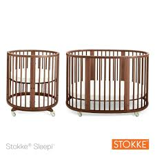 baby crib round system 1 convertible walnut sheets boy